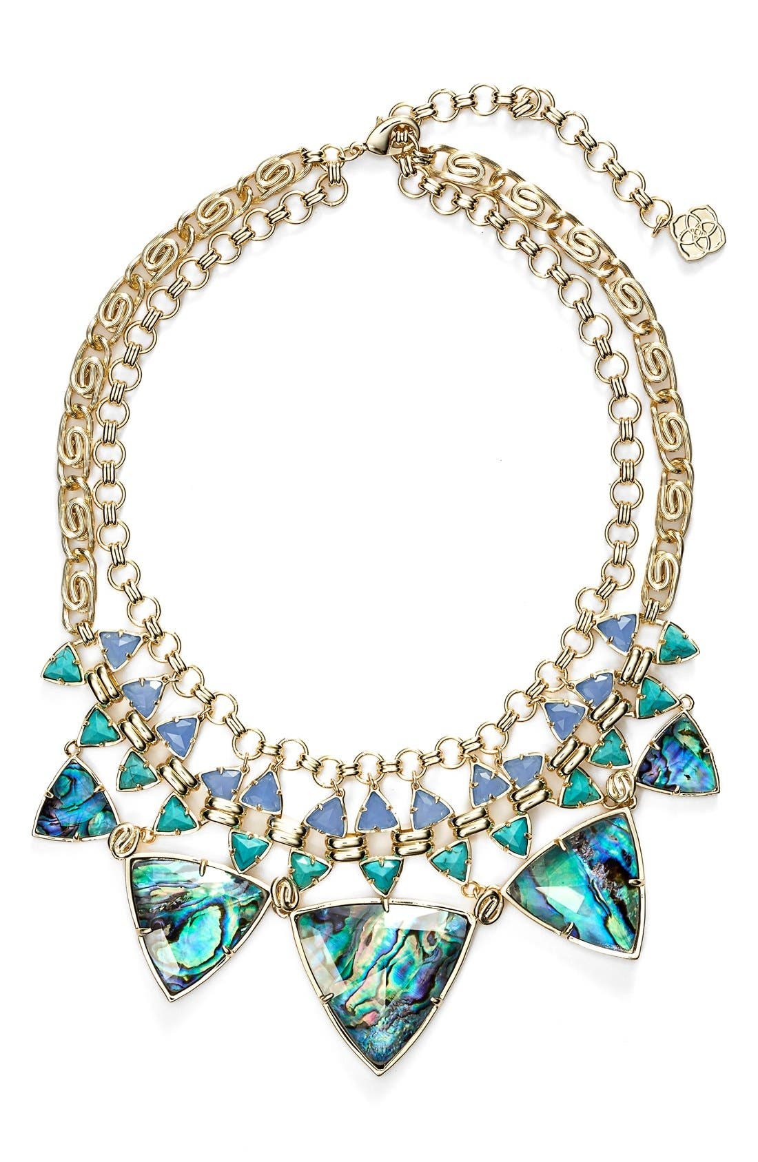 Alternate Image 1 Selected - Kendra Scott 'Emily' Stone Statement Necklace
