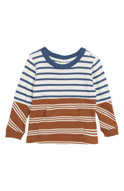 Tucker + Tate Pieced Stripe Shirt (Baby)