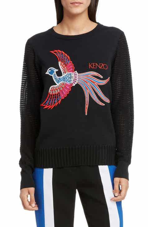 c967aba8f66f KENZO Phoenix Embroidered Sweater