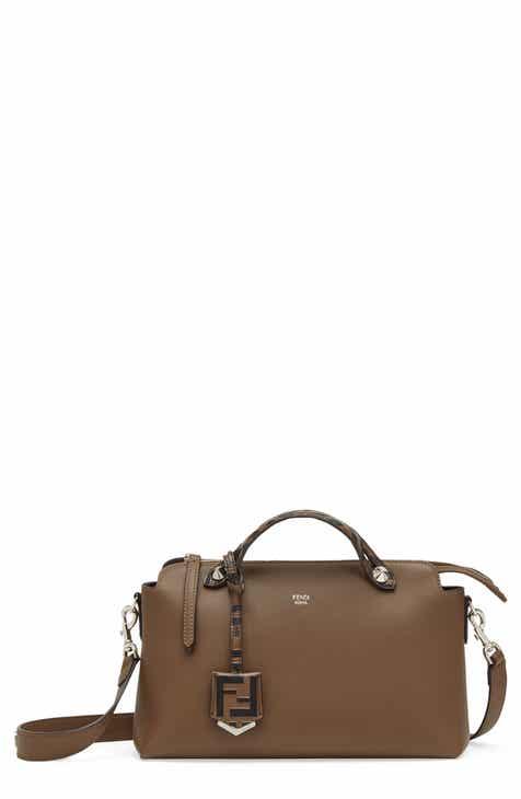 7ea174aea8b Fendi Medium By the Way Leather Shoulder Bag