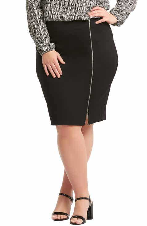 BLANKNYC Faux Leather Pencil Skirt by BLANKNYC