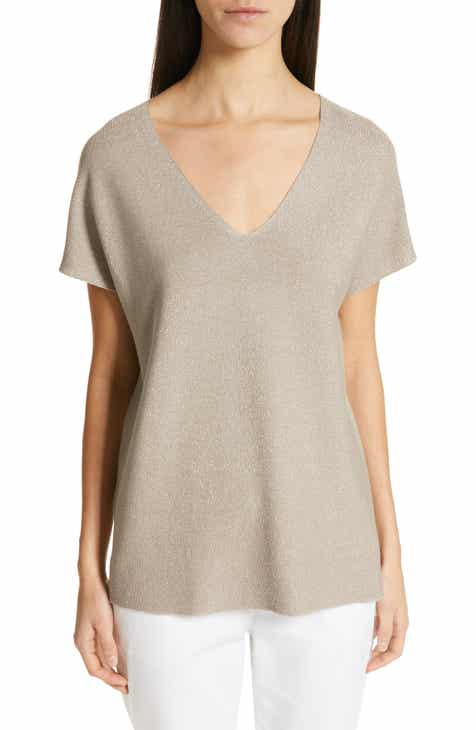 Fabiana Filippi Metallic Top by FABIANA FILIPPI