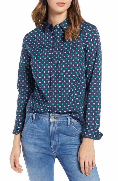 739a5060468e77 1901 Print Shirt (Regular   Petite)