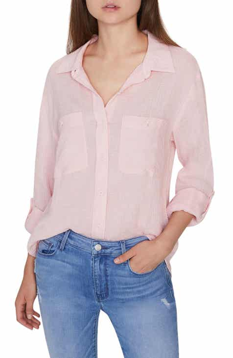 895ccf63beb Sanctuary Steady Boyfriend Roll Tab Shirt (Regular & Petite)