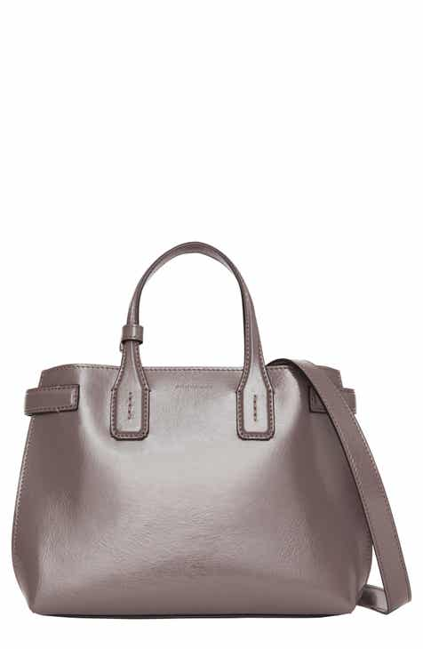 Burberry Small Banner Leather Tote