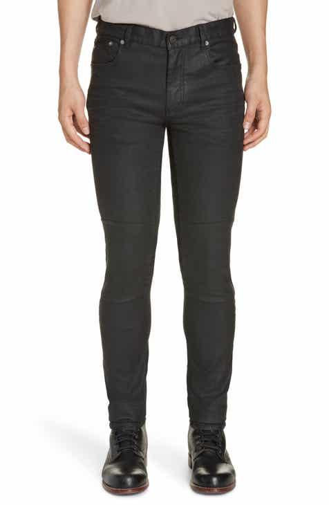 ff804e04e0fb Belstaff Tattenhall Skinny Fit Coated Jeans