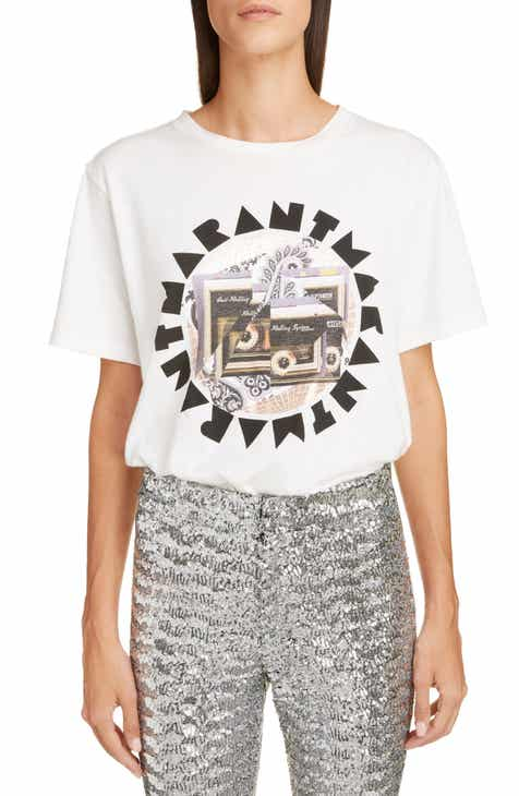 a3ed18681f0b71 Isabel Marant Disco Ball Graphic Tee