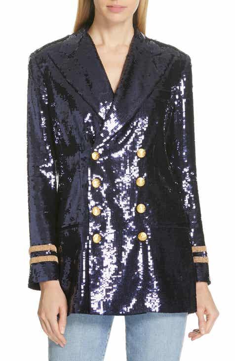 3e065f27974 Polo Ralph Lauren Double Breasted Sequin Blazer
