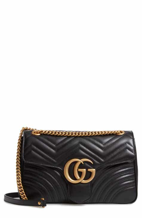 Gucci Medium GG Marmont 2.0 Matelassé Leather Shoulder Bag 07227633a30b8