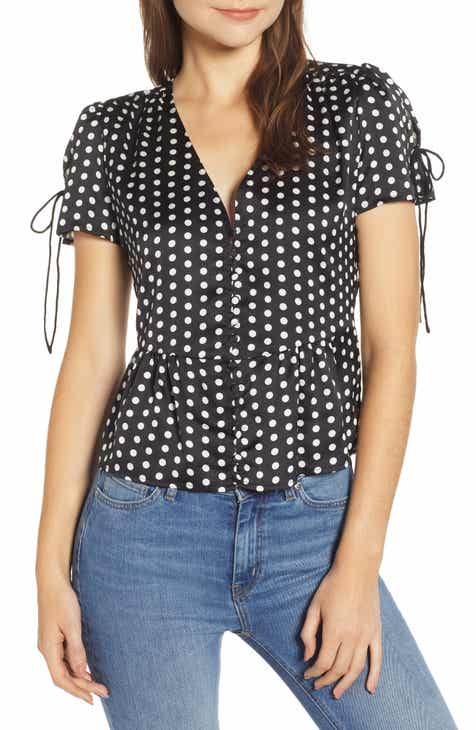 2d8b32f0ae6 Heartloom Tallie Polka Dot Top