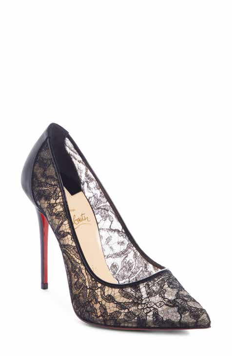e9f3eb816ff6 Christian Louboutin Follies Alençon Lace Pump (Women)