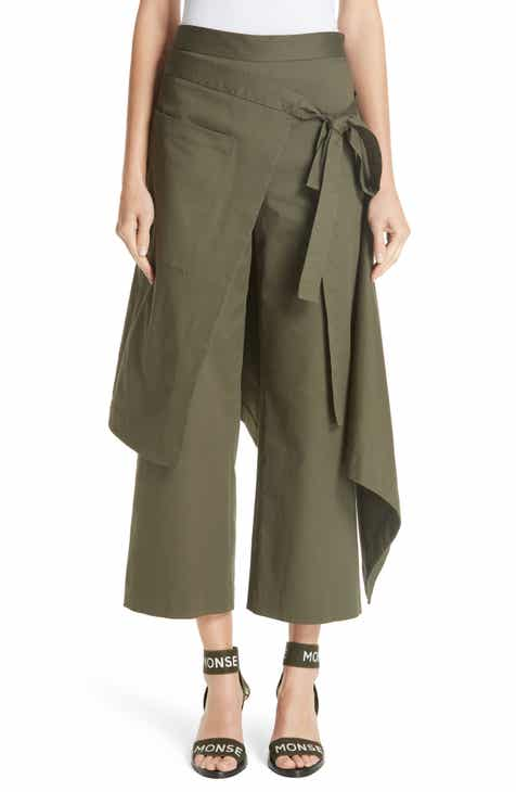 MONSE Cotton Twill Apron Pants by MONSE