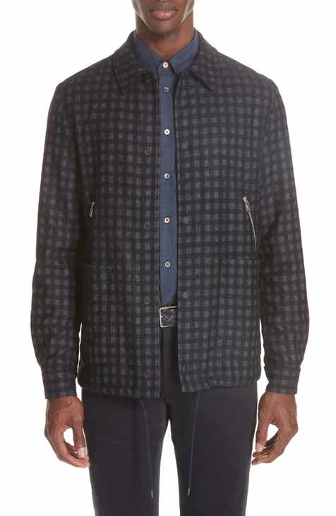 0976145329710 PS Paul Smith Check Zip Jacket