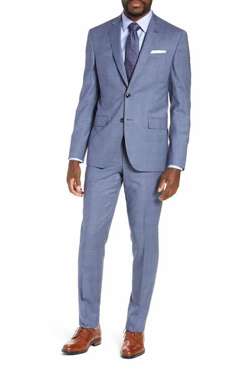 af01ded71c21 Ted Baker London Jay Trim Fit Plaid Wool Suit