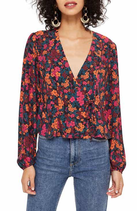 3266859ca3e26 Topshop Grand Estate Floral Blouse