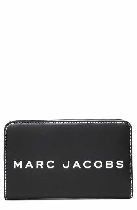 bf555a4e7b06 MARC JACOBS The Tag Compact Leather Wallet