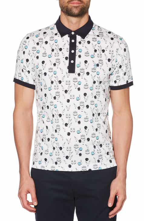 74d8630a7 Original Penguin Bowling Print Slim Fit Polo