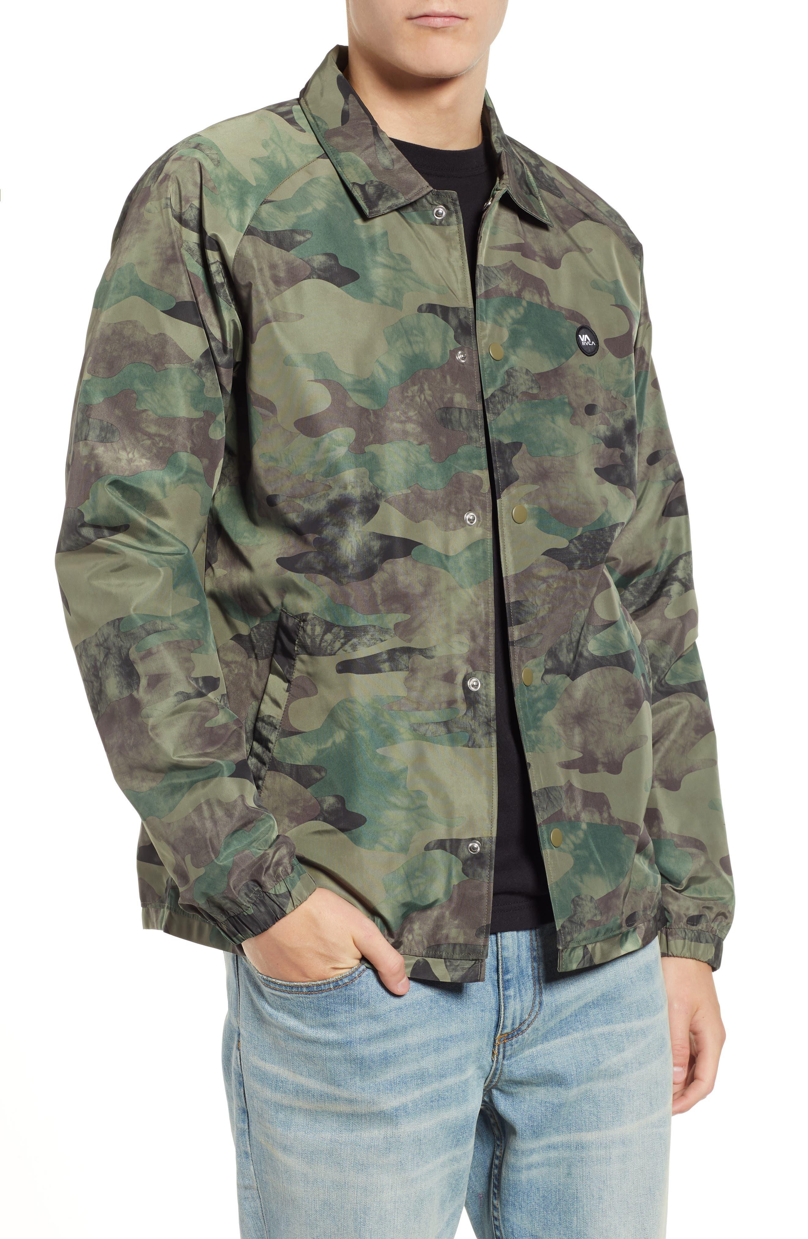 Men s RVCA Coats   Jackets  be6fc129d