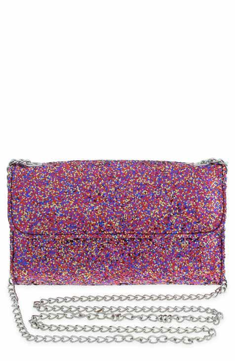 7546408678a2 Capelli New York Glitter Crossbody Wallet (Kids)