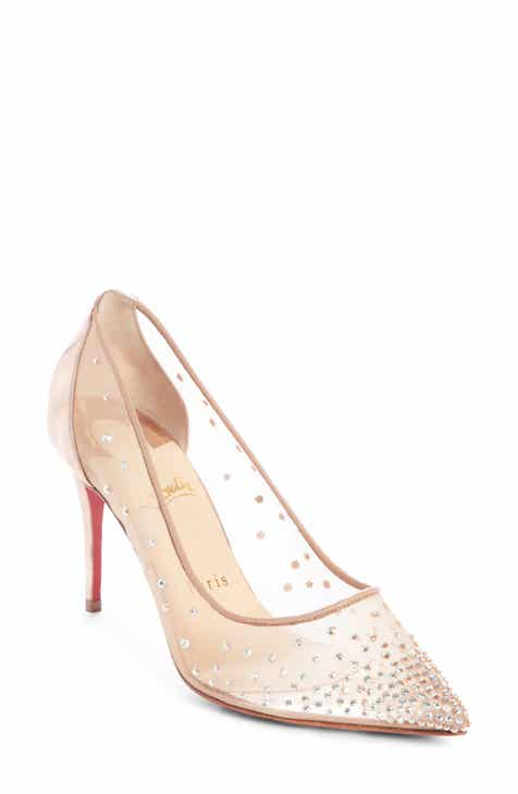 new products 511ef abf04 Women's Christian Louboutin Wedding Shoes | Nordstrom