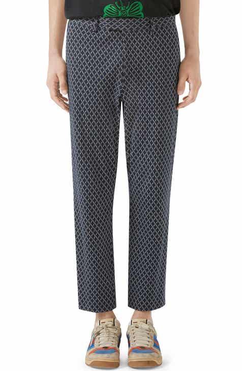 Gucci Cotton Print Trousers