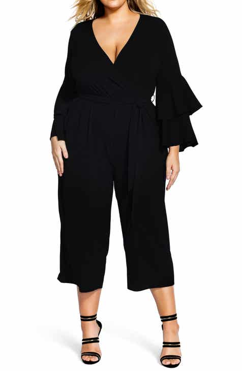 e9a9af806a4 City Chic Sweet Sleeve Jumpsuit (Plus Size)