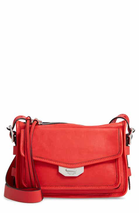 Rag Bone Small Field Leather Messenger Bag