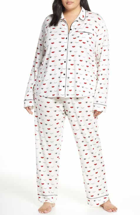 PJ Salvage Give Love Pajamas (Plus Size) d52e10edd
