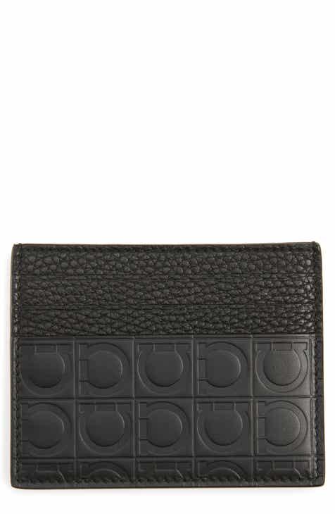 c0e55d02ae Salvatore Ferragamo Leather Card Case