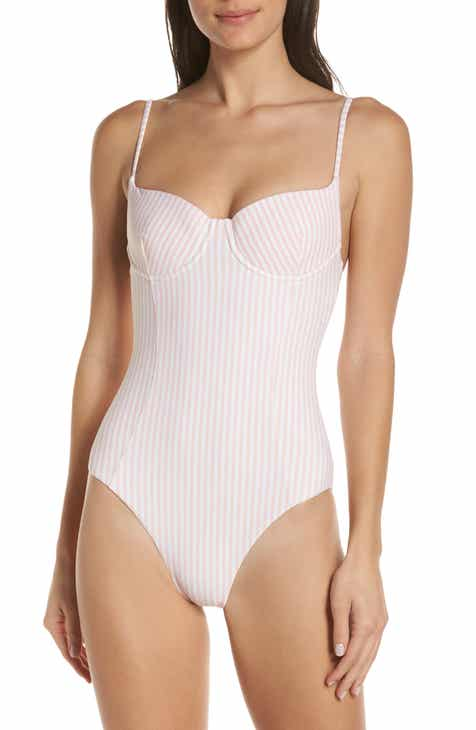 65b2792b98821 Onia Check One-Piece Swimsuit