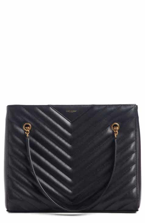 Saint Laurent Tote Bags for Women  Leather, Coated Canvas ... ded3bc6a2f