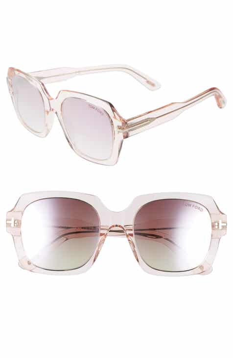 6732814d18 Tom Ford Autumn 53mm Square Sunglasses