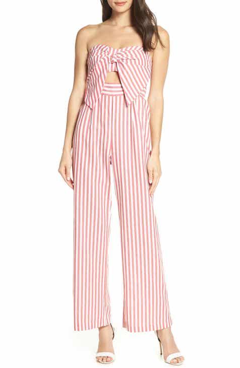 c5acffdd133b Bardot Summer Stripe Strapless Jumpsuit