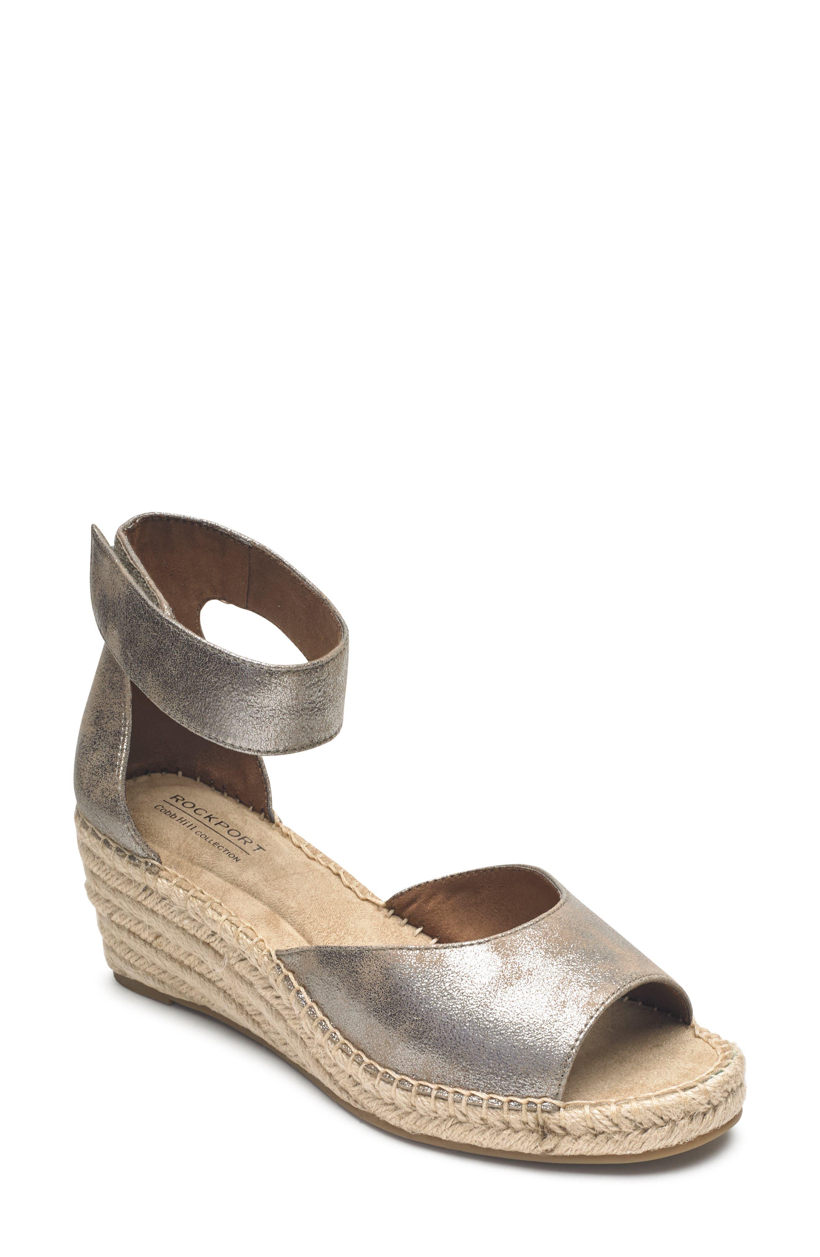 885ceceb2 Women s Rockport Cobb Hill Flat Heeled Sandals