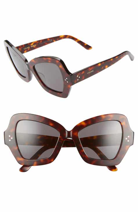 15b097c77372 CELINE 54mm Butterfly Sunglasses
