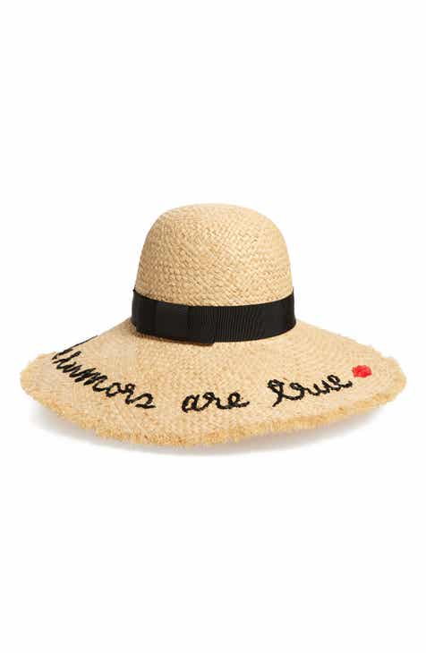kate spade new york the rumors are true raffia hat e7afa4798f3