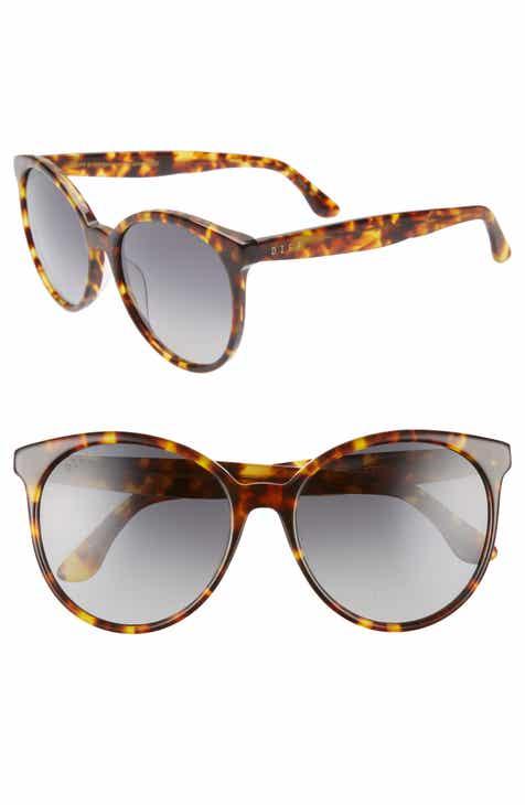 043c1fe3f89ea DIFF Cosmo 56mm Polarized Round Sunglasses