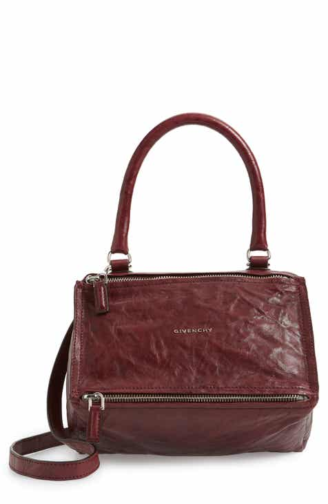 bba3801f70 Givenchy  Small Pepe Pandora  Leather Crossbody Bag