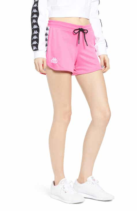 Kappa Logo Tape Mesh Shorts By KAPPA ACTIVE by KAPPA ACTIVE Herry Up