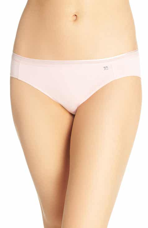 Thistle and Spire Eyelash Lace Mirage Thong by THISTLE AND SPIRE