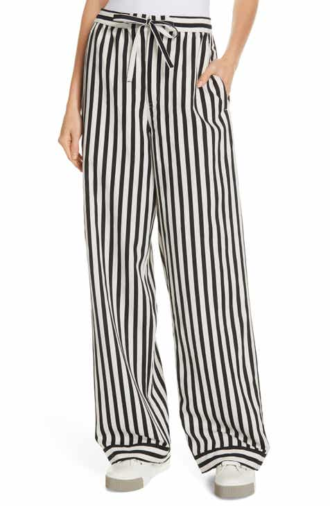 Polo Ralph Lauren Stripe Wide Leg Pants by POLO RALPH LAUREN