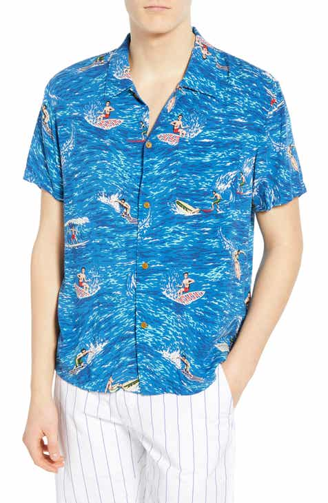d5572adc Scotch & Soda Hawaiian Fit Surfer Camp Shirt