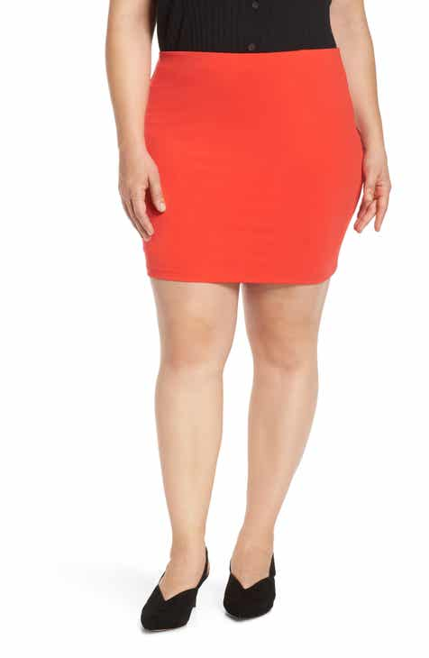 be5643e91b Leith Mini Body-Con Skirt (Plus Size)