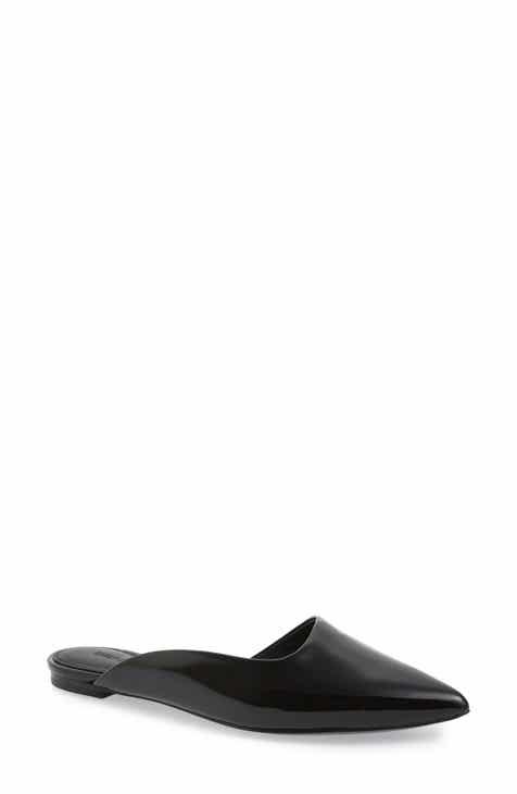 06a81f7f0 Sigerson Morrison Asymmetrical Flat Mule (Women)