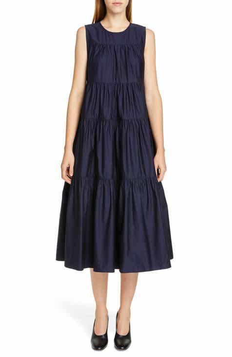 06134e4a55 Co Tiered Cotton Midi Dress