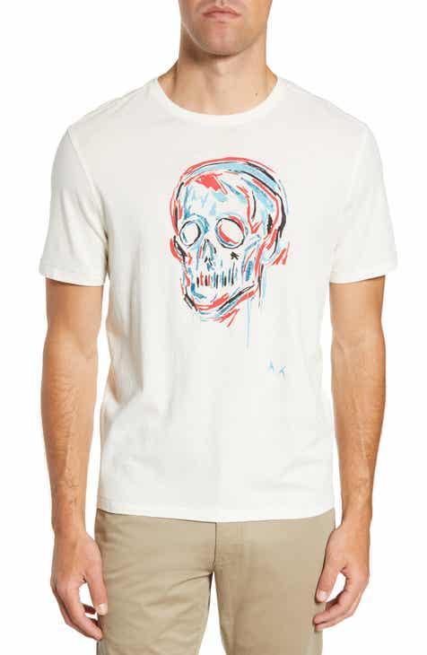 5122ddae9 John Varvatos Star USA Color Skull Graphic T-Shirt