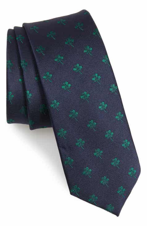 1901 Shamrock Silk Blend Tie