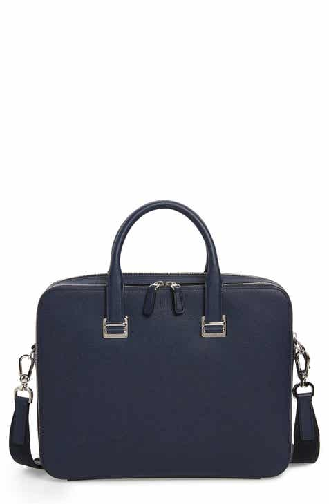 b59c69525cf0 Dunhill Cadogan Leather Double Document Case