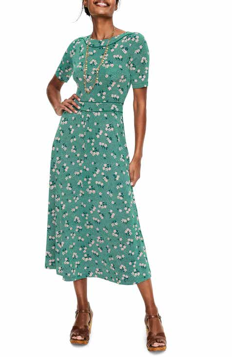 4660da3260 Boden Ava Jersey Midi Dress (Regular   Petite)