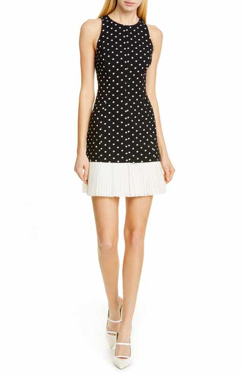Cinq à Sept Catriona Polka Dot Minidress